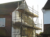 Rendering Plaster Services - External Render repair in Barnes SW14 London