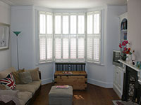 Newly decorated lounge - 4 bed house in Earlsfield London SW18